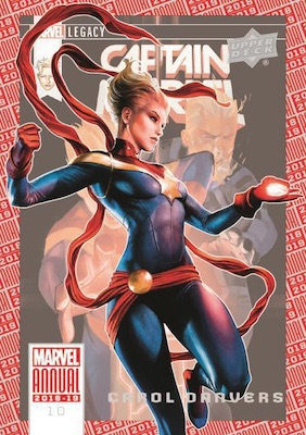 2018-19 Upper Deck Marvel Annual Trading Cards 3