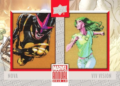 2018-19 Upper Deck Marvel Annual Trading Cards 6