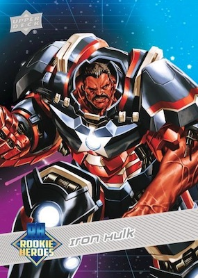2018-19 Upper Deck Marvel Annual Trading Cards 4