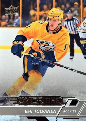 2018-19 Upper Deck Overtime Hockey Cards - Updated Wave 2 Checklist 1