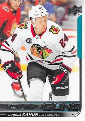 2018-19 Upper Deck Young Guns Rookie Checklist and Gallery 34