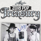 2018 Leaf Pop Treasury Memorabilia