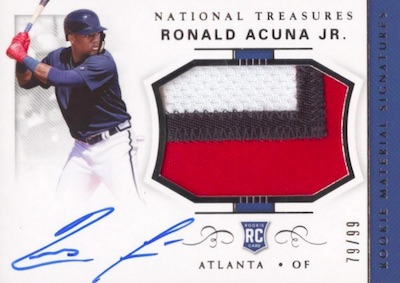 Ronald Acuna Jr. Rookie Cards Checklist and Gallery 11