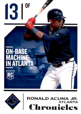 Ronald Acuna Jr. Rookie Cards Checklist and Gallery 12