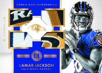 2018 Panini Encased Football Cards 8