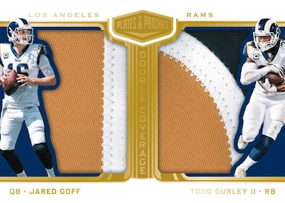2018 Panini Plates & Patches Football
