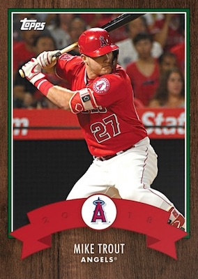 2018 Topps Advent Calendar Baseball Cards - Final Cards 2