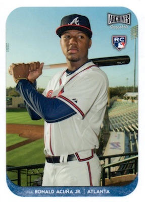 Ronald Acuna Jr. Rookie Cards Checklist and Gallery 25