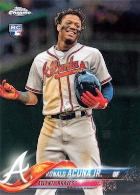 Ronald Acuna Jr. Rookie Cards Checklist and Gallery 29