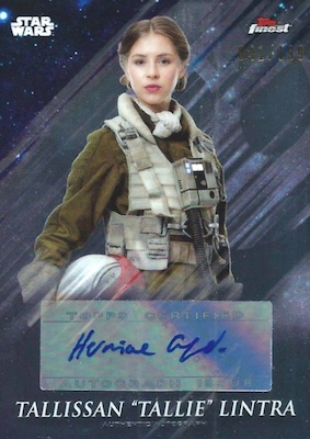 2018 Topps Finest Star Wars Trading Cards 5