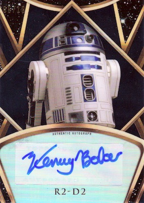 2018 Topps Finest Star Wars Trading Cards 6