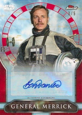 2018 Topps Finest Star Wars Trading Cards 28