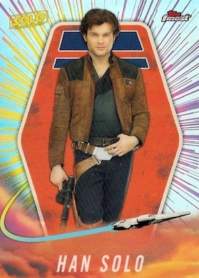 2018 Topps Finest Star Wars Trading Cards 4