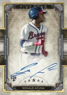 Ronald Acuna Jr. Rookie Cards Checklist and Gallery 34