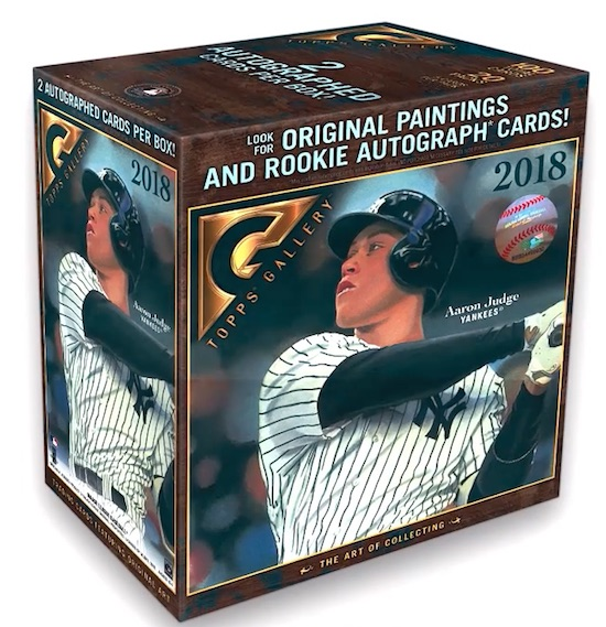 2018 Topps Gallery Baseball Cards