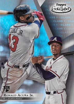 Ronald Acuna Jr. Rookie Cards Checklist and Gallery 36