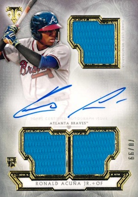 Ronald Acuna Jr. Rookie Cards Checklist and Gallery 49