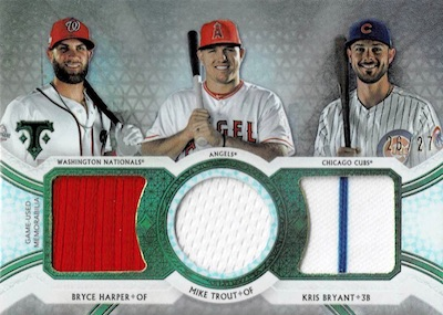 2018 Topps Triple Threads Baseball Cards 36