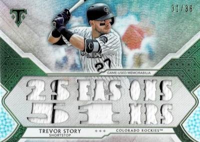 2018 Topps Triple Threads Baseball