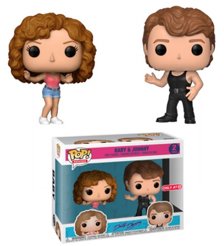 Funko Pop Dirty Dancing Vinyl Figures 3