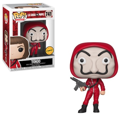 Funko Pop La Casa De Papel Money Heist Figures 3