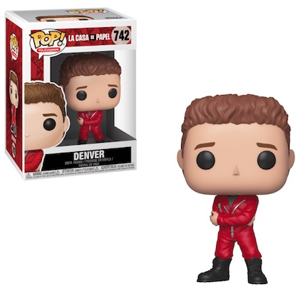 Funko Pop La Casa De Papel Money Heist Figures 4