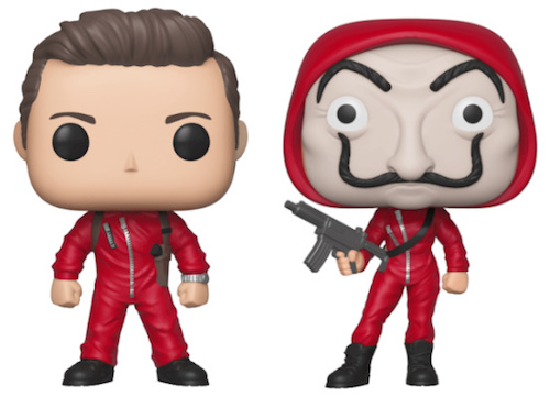Funko Pop La Casa De Papel Money Heist Figures 1