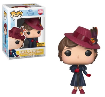 Funko Pop Mary Poppins Vinyl Figures 7