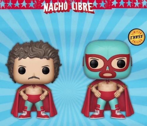 Funko Pop Nacho Libre Checklist Set Gallery Exclusives