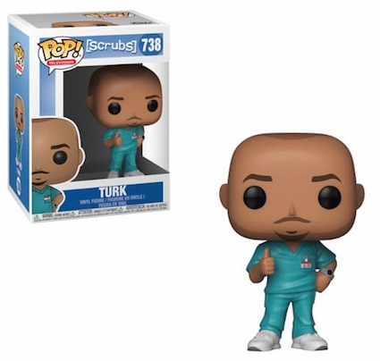 Funko Pop Scrubs Vinyl Figures 3