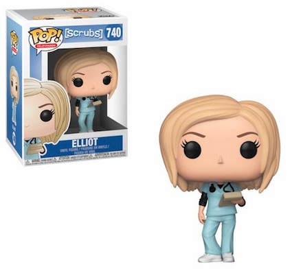 Funko Pop Scrubs Vinyl Figures 5