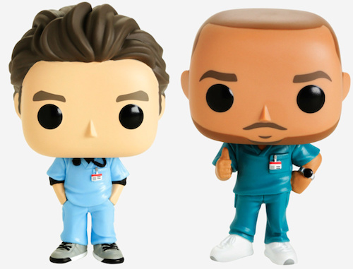 Funko Pop Scrubs Vinyl Figures 1