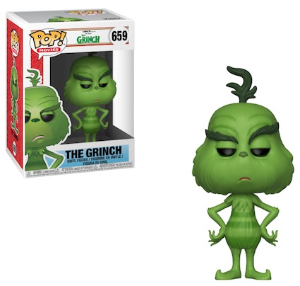 Funko Pop The Grinch Vinyl Figures 10