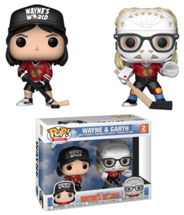 Funko Pop Wayne's World Vinyl Figures 4