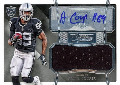 Amari Cooper Rookie Card Gallery and Checklist 3