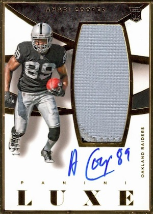 Amari Cooper Rookie Card Gallery and Checklist 14