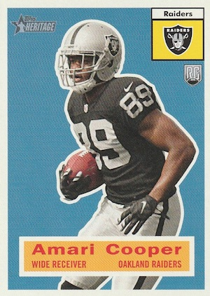 Amari Cooper Rookie Card Gallery and Checklist 36