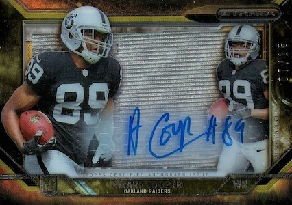 Amari Cooper Rookie Card Gallery and Checklist 42