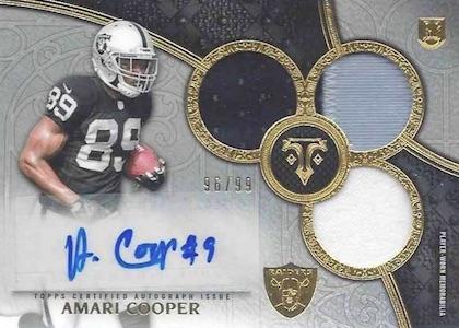 Amari Cooper Rookie Card Gallery and Checklist 44
