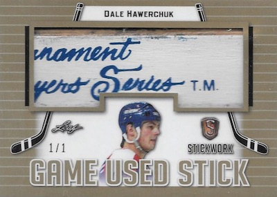 2017-18 Leaf Stickwork Hockey Cards 1