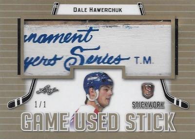 2017-18 Leaf Stickwork Hockey Cards 1
