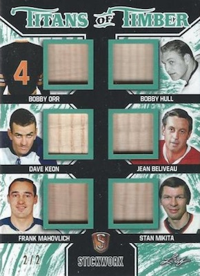 2017-18 Leaf Stickwork Hockey Cards 29