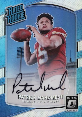 Top Patrick Mahomes Rookie Cards to Collect 5