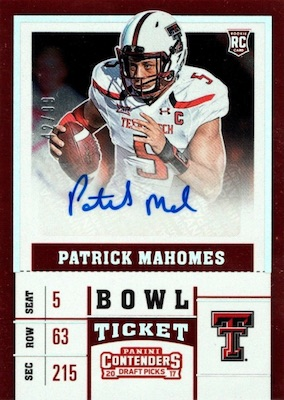 Top Patrick Mahomes Rookie Cards to Collect 8