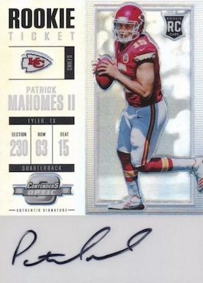 Top Patrick Mahomes Rookie Cards to Collect 9
