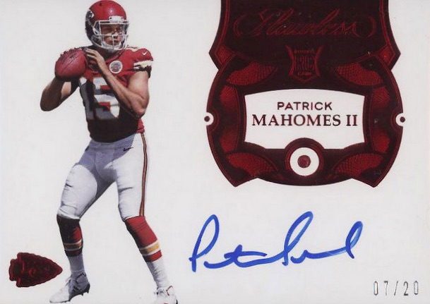 Top Patrick Mahomes Rookie Cards to Collect 11