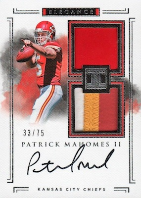 Top Patrick Mahomes Rookie Cards to Collect 13