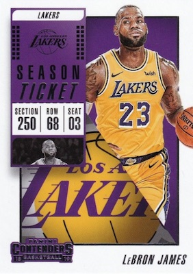 2018-19 Panini Contenders Basketball Cards 25