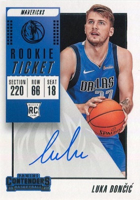 Top Luka Doncic Rookie Cards to Collect 17