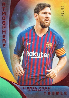 2018-19 Panini Treble Soccer Cards 34
